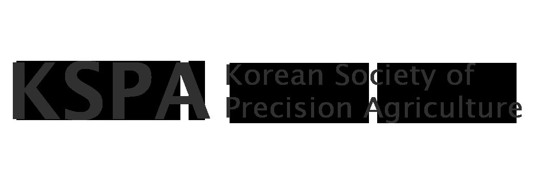 Korean Society of Precision Agriculture 한국정밀농업학회